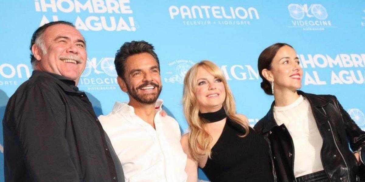 Eugenio Derbez quiere romper récords con 'Hombre al agua'