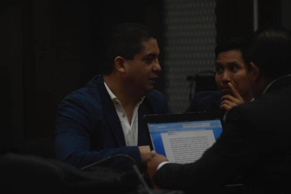 Juan Carlos Monzón, colaborador eficaz del MP. Omar Solís
