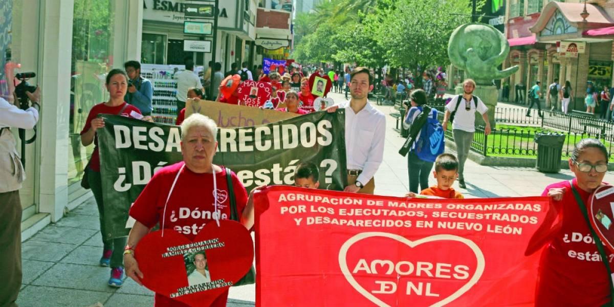 Madres de desaparecidos en Nuevo León reclaman localizar a sus hijos