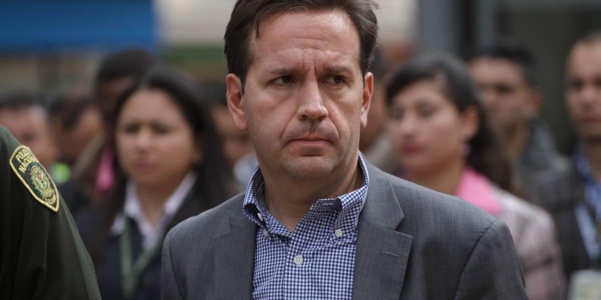 Daniel Mejía dimitió como Secretario de Seguridad de Bogotá
