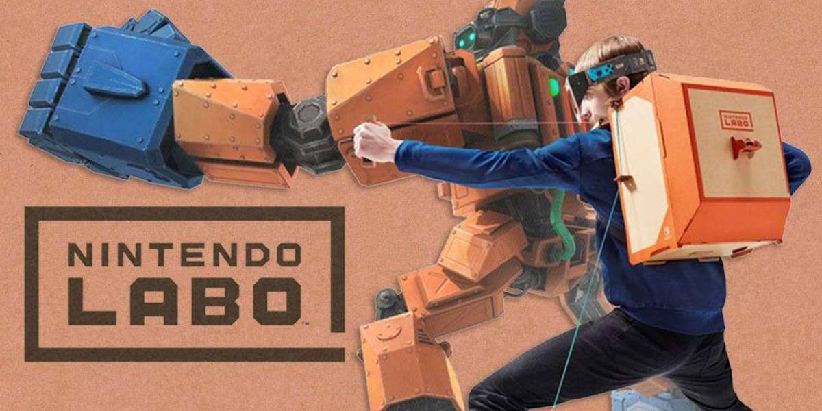 El Nintendo Labo ya se puede comprar en México, aunque por un precio bastante elevado