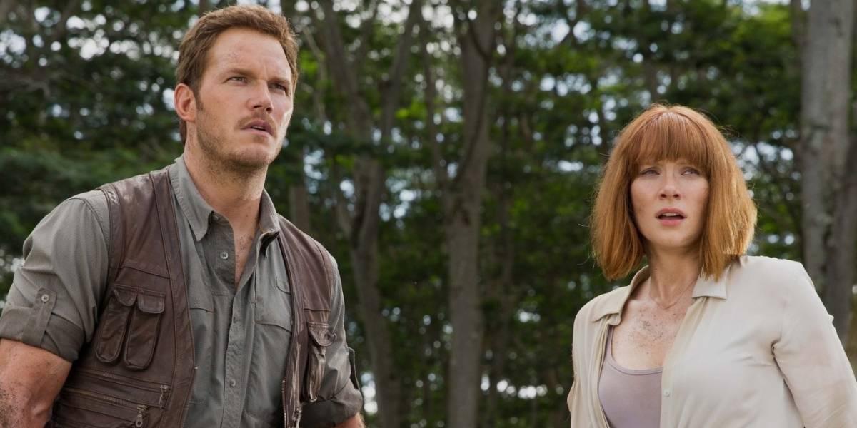 Jurassic World: Chris Pratt recebeu US$ 2 milhões a mais que Bryce Dallas Howard