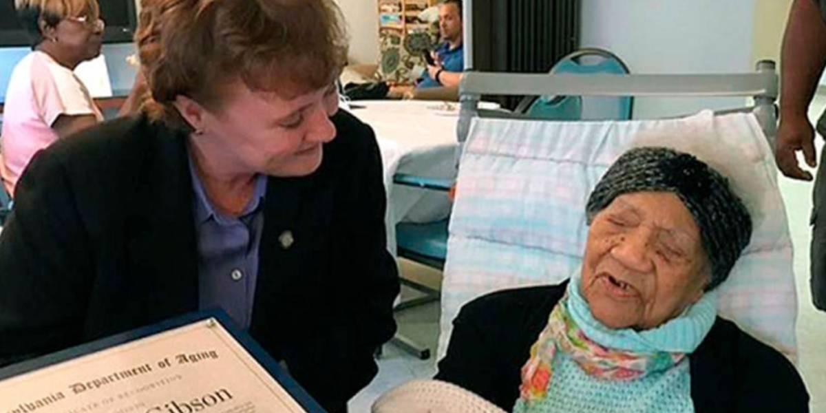 Muere la persona más vieja de EEUU a los 114 años