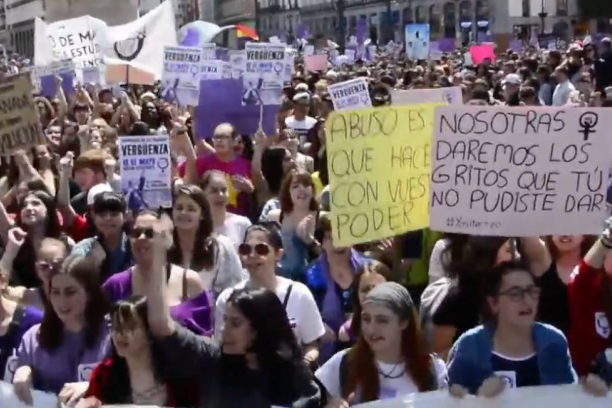 Continúan las protestas en España por la sentencia de 'la manada'