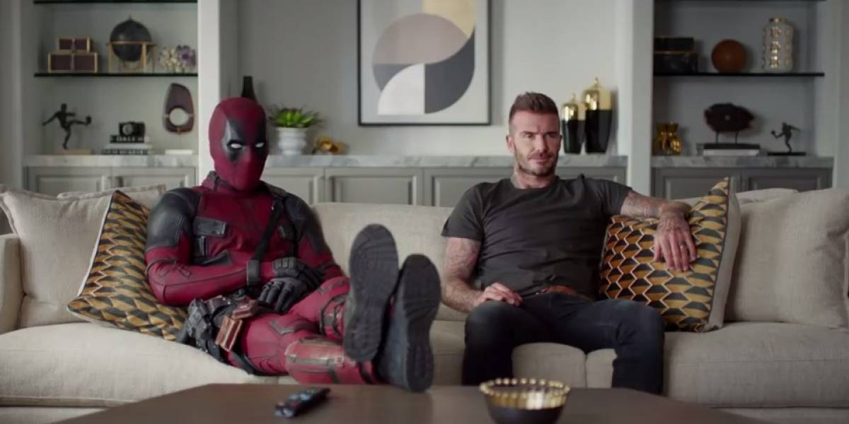 Deadpool se disculpa con David Beckham por chiste sobre su voz