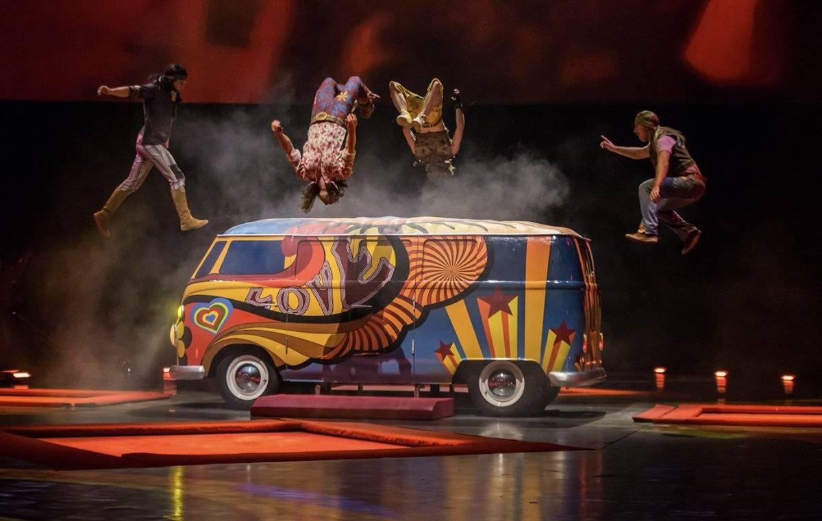 Love del Cirque du Soleil, el show que todo viajero debe agendar en Las Vegas