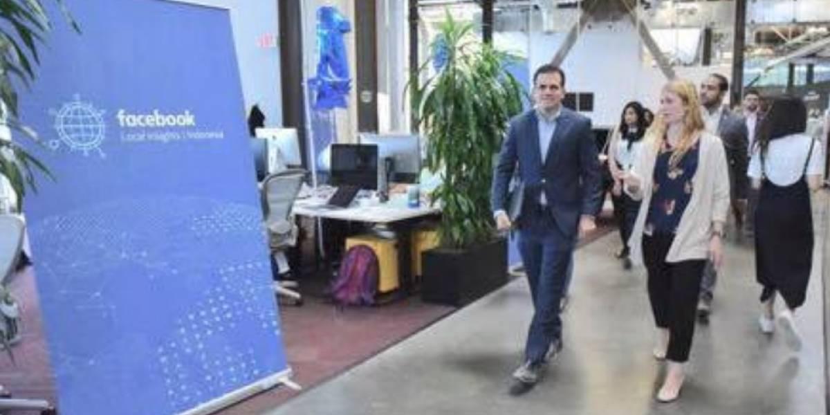 Rosselló se reúne con ejecutivos de Facebook, Uber y Sunrun