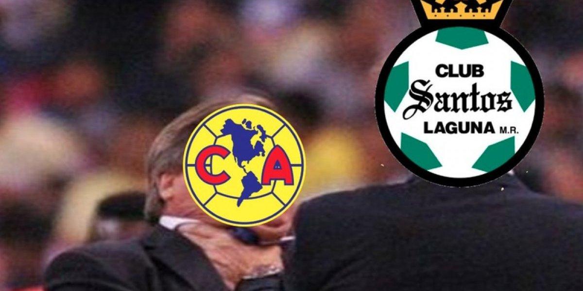 Los memes de la goleada de Santos al América