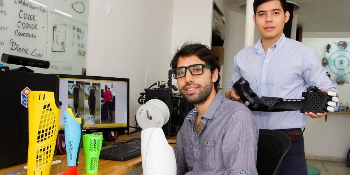 Prótesis con estilo, la idea de tres emprendedores para las personas con discapacidad