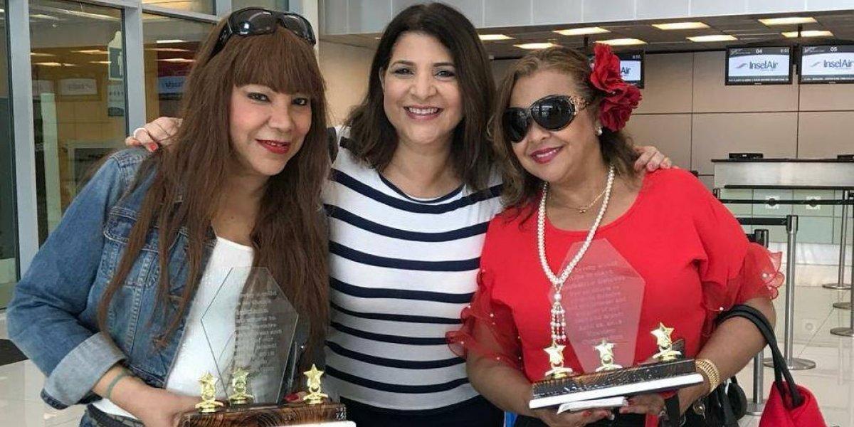 Jackeline Estévez y Vickiana promueven turismo de Bonaire