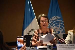 Relatora Victoria Tauli-Corpuz