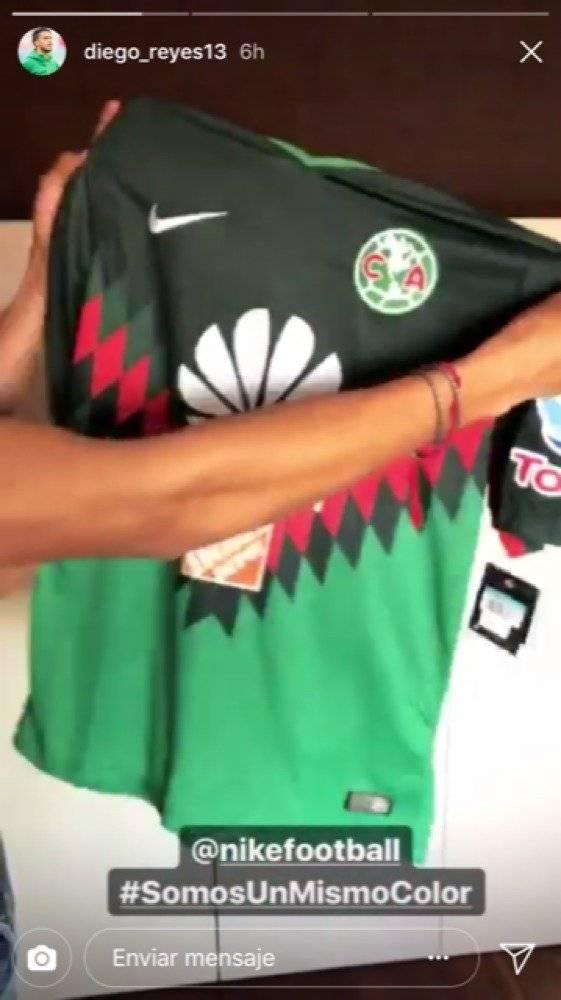 Diego Reyes se pone la del América de nuevo