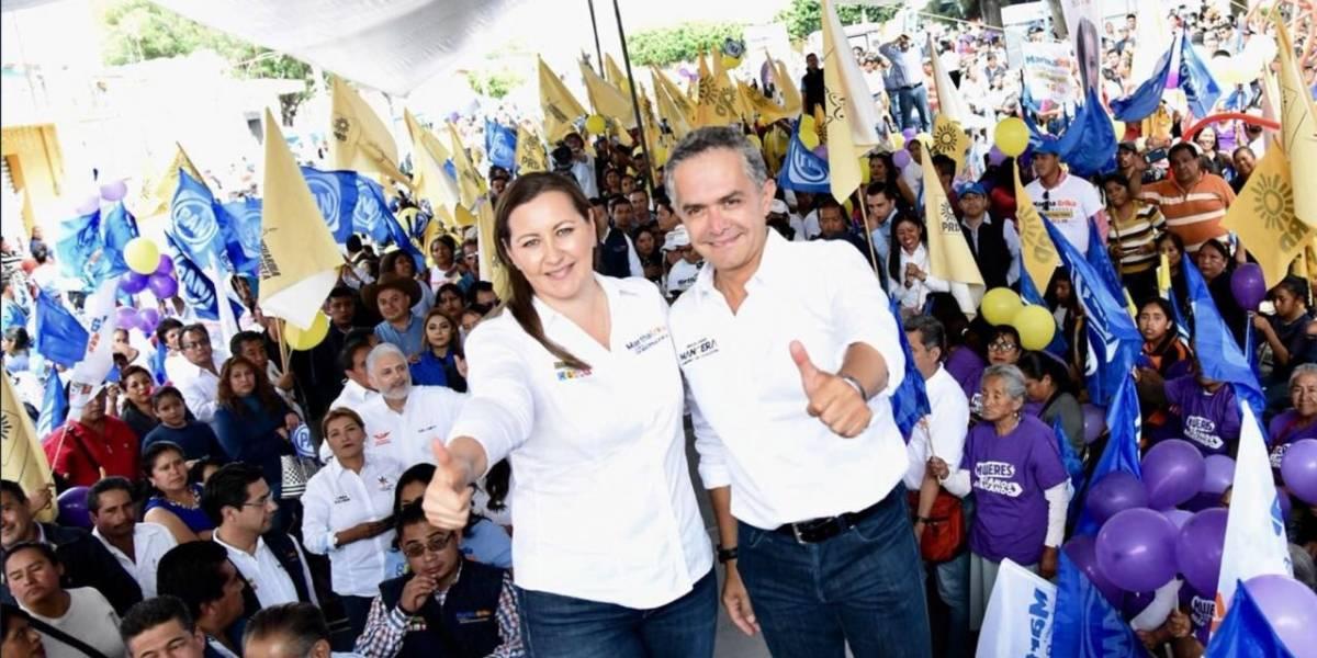 Martha Erika Alonso, la mejor opción para Puebla: Mancera