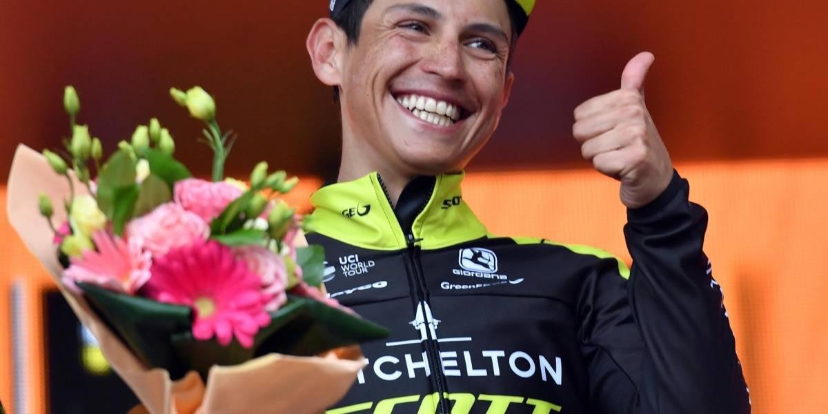 Sprint en la etapa 7 del Giro de Italia: Chaves sigue en el podio