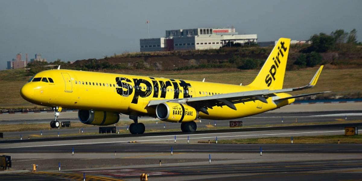 Spirit ofrecerá acceso a internet en sus vuelos