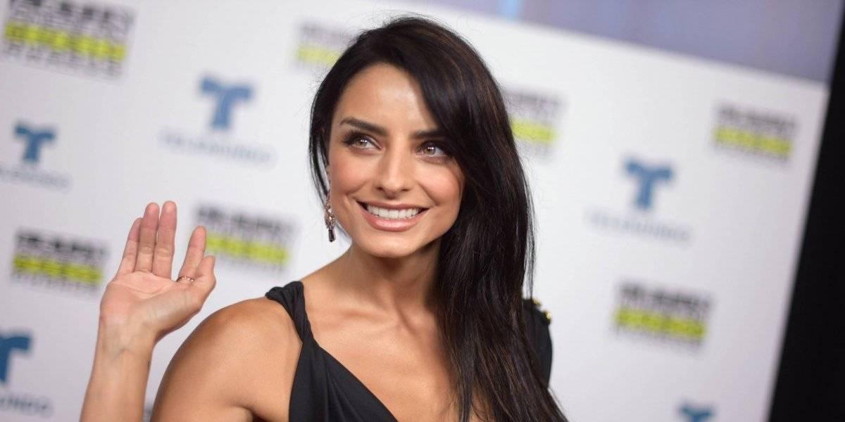 Aislinn Derbez revela que usa semen de tiburón para un rostro perfecto