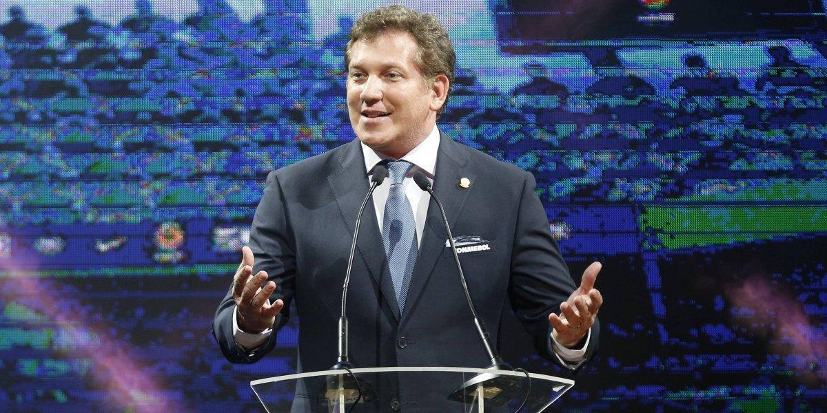 Alejandro Domínguez fue reelegido como presidente de la Conmebol