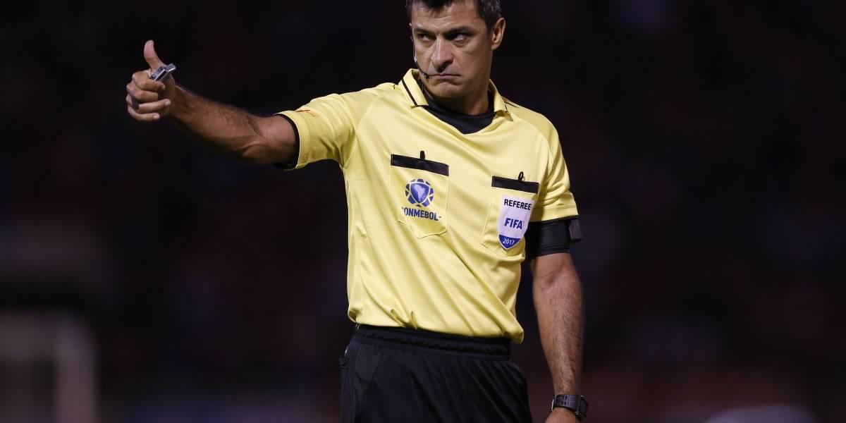 Sandro Ricci será el árbitro del trascendental Colo Colo-Bolívar en Copa Libertadores