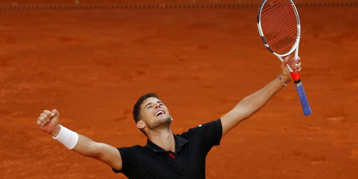 Thiem derrota a Nadal en Abierto de Madrid