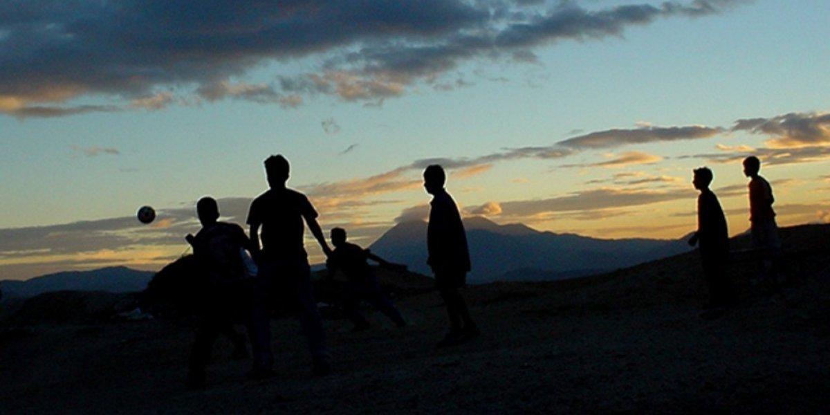 Se viraliza imagen de insólita cancha en Guatemala que debes conocer