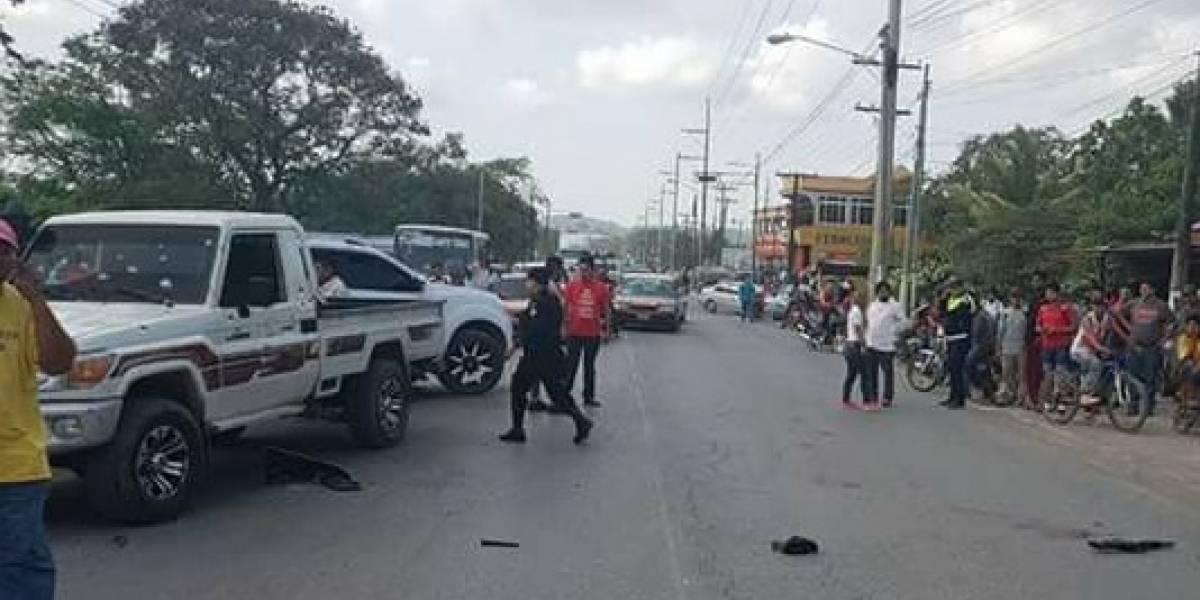 Cámaras captan emboscada contra ganadero en Puerto Barrios