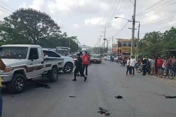 balacera en Puerto Barrios