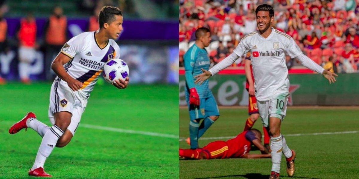 Vela y Gio, entre los mejores pagados en la MLS