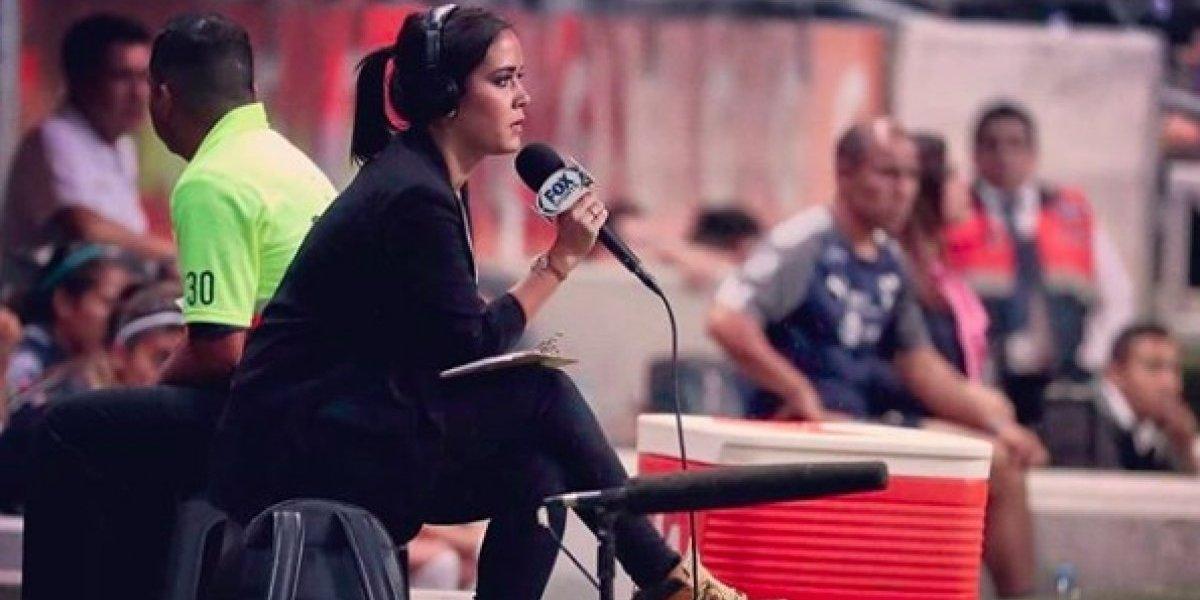 Reportera de Fox Sports denuncia robo en Tijuana tras partido ante Toluca