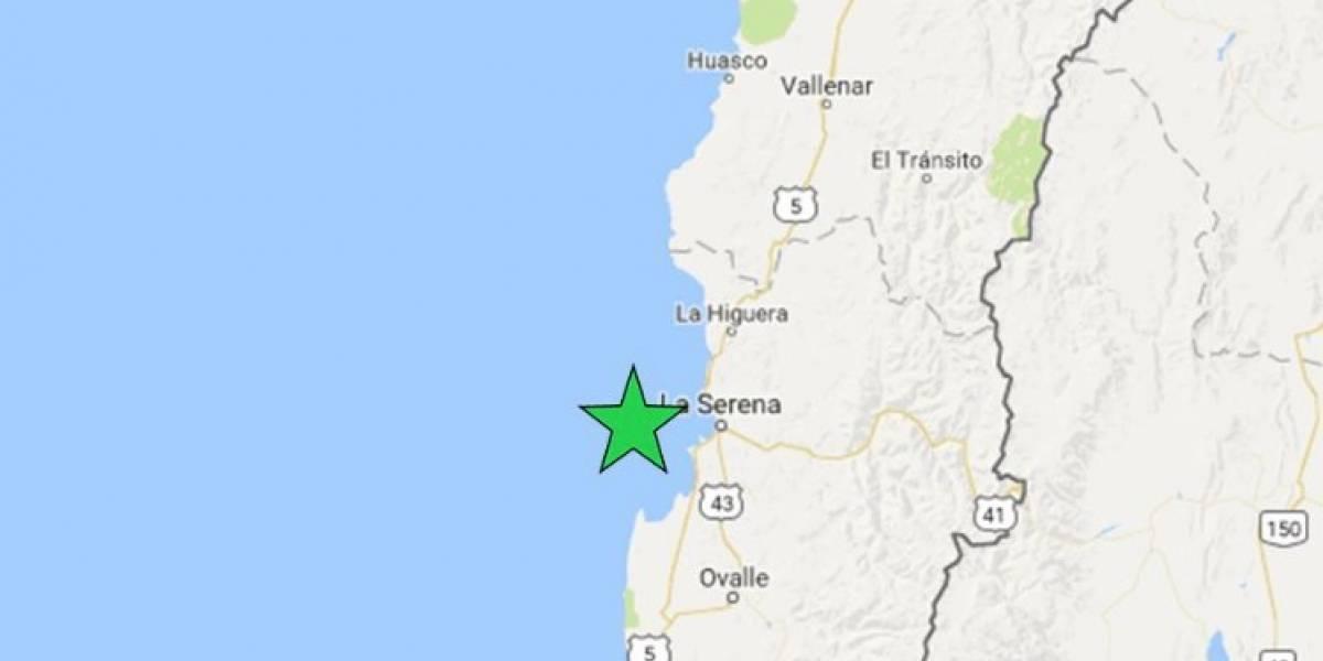 Así lo confirmó Sismología Chile y Onemi: Sismo de menor intensidad se registró en La Serena (4.1) y Valparaíso (4.7)