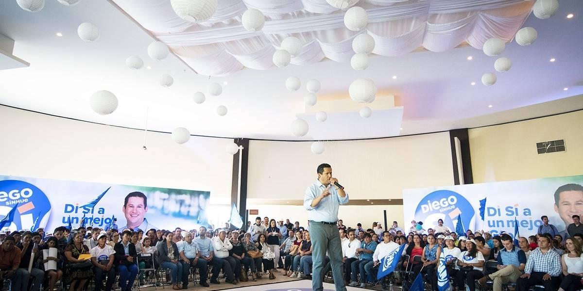 Candidato de Guanajuato al Frente rechaza acusaciones de nepotismo