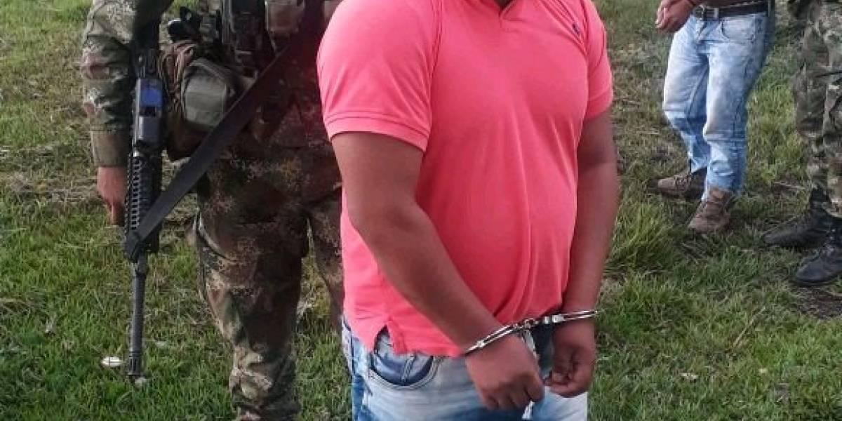 Capturan en Colombia a cabecilla de disidencias FARC