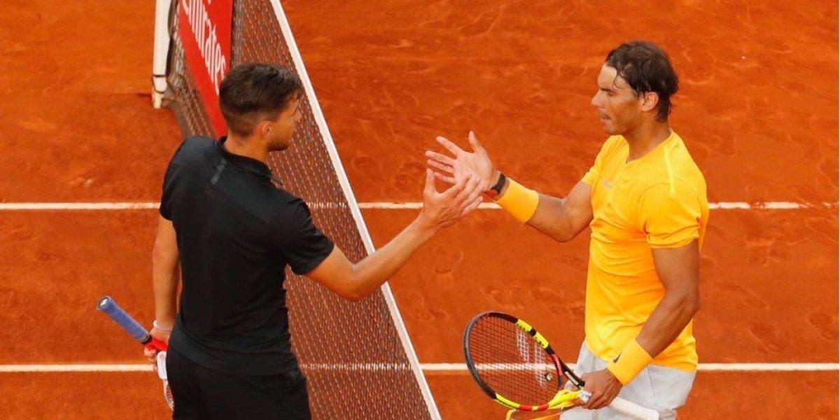 Rafael Nadal es descalificado en España