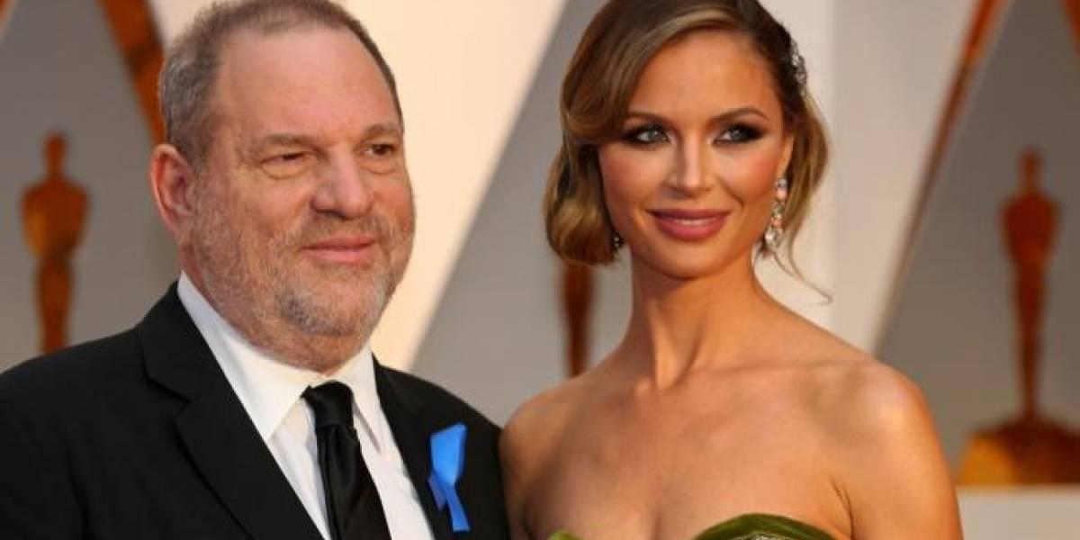 Con lágrimas, esposa de Weinstein asegura que no sabía nada