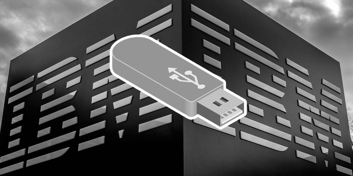 IBM prohíbe a sus empleados las memorias USB