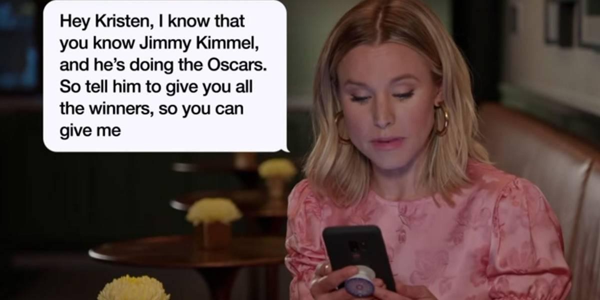 Kristen Bell, Anna Faris e outros famosos revelam mensagens hilárias recebidas pelas mães