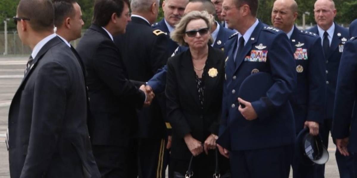 Dan homenaje póstumo a militares de la Guardia Nacional fallecidos en Georgia