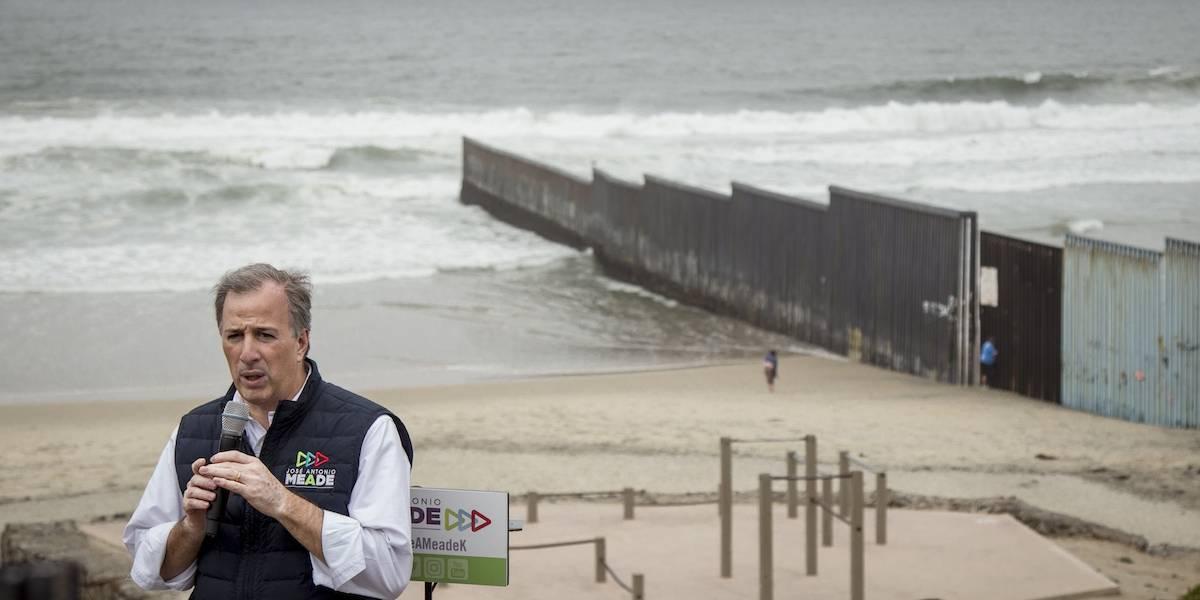 Promete Meade combatir el tráfico de armas con muro tecnológico