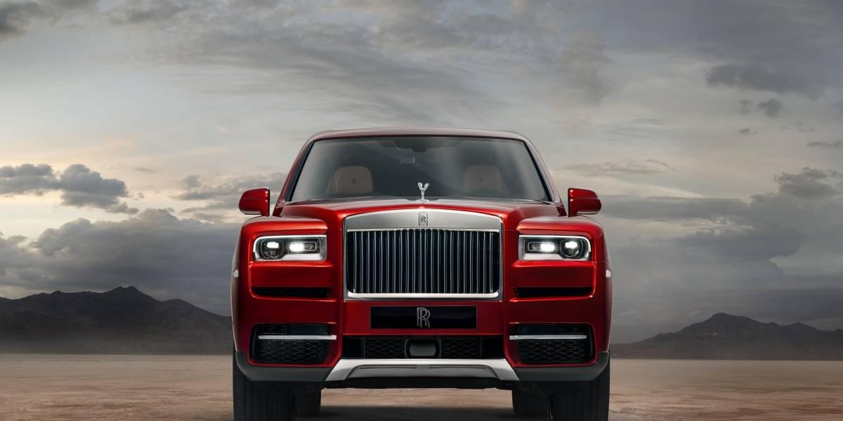 El impresionante paso inicial de Rolls Royce en los SUV