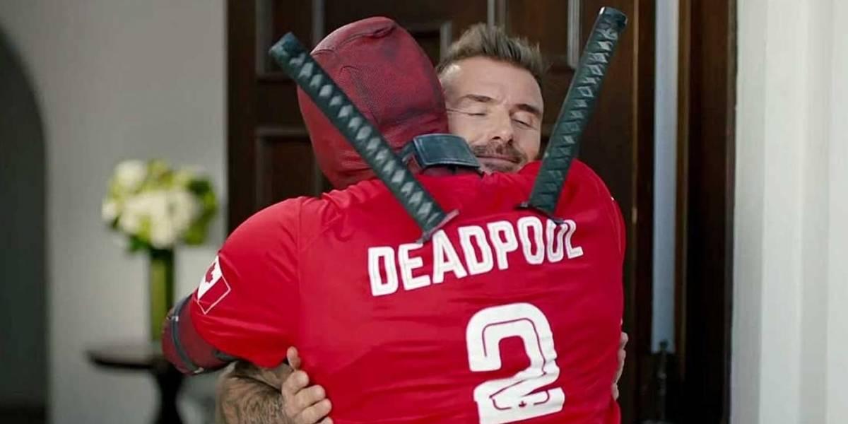 Deadpool pede desculpas por piada feita com David Beckham no primeiro filme; assista
