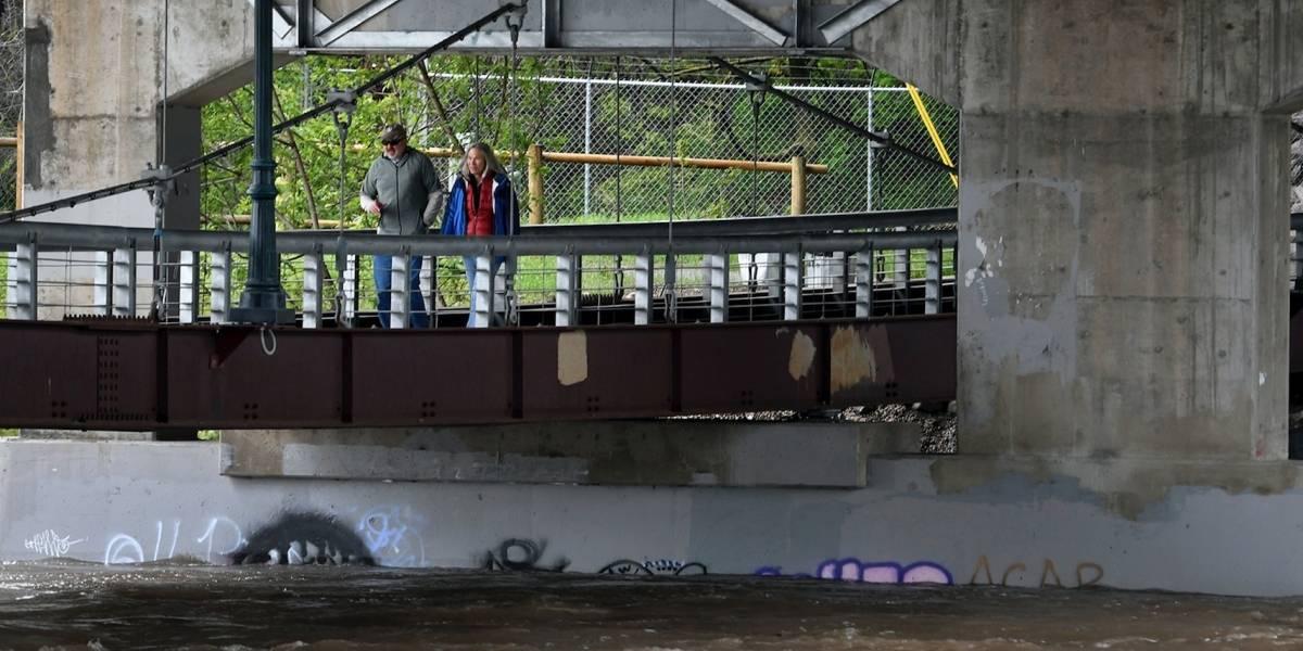 Inundaciones en Montana cerca de su mayor nivel en 100 años