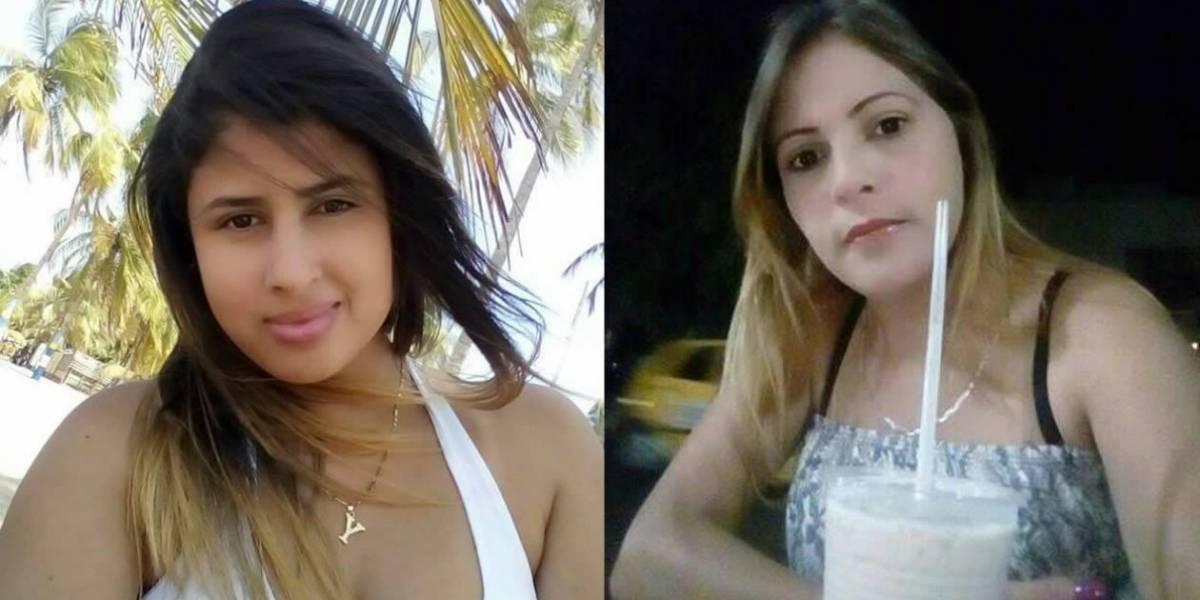 Revelan el rostro de las dos venezolanas que fueron sorprendidas por colombiana con su esposo