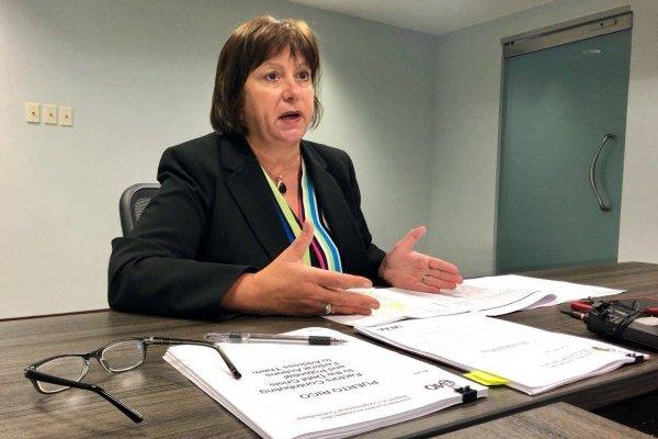 Natalie Jaresko, directora ejecutiva de la Junta de Control Fiscal / Foto: David Cordero Mercado