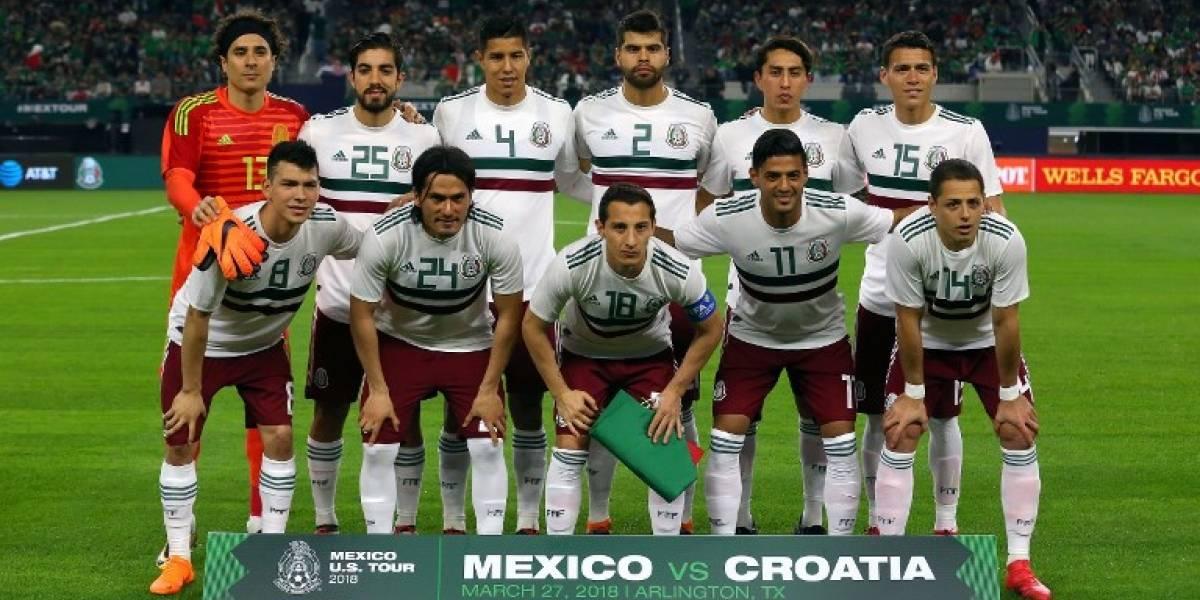 Esta sería la lista oficial de México para Rusia 2018