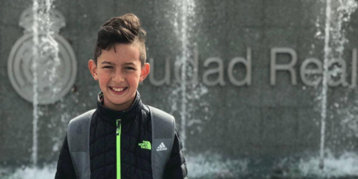 VIDEO: Niño mexicano entrena con el Real Madrid
