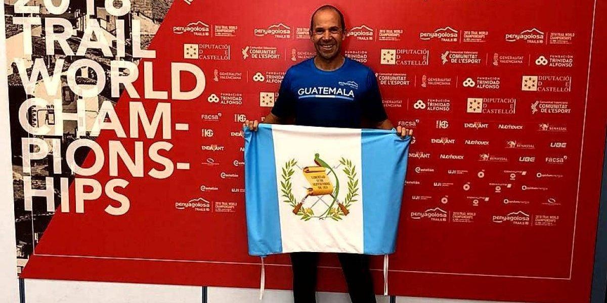 Sagastume cruza la meta del Mundial de Trail dentro del Top 20 de Latinoamérica