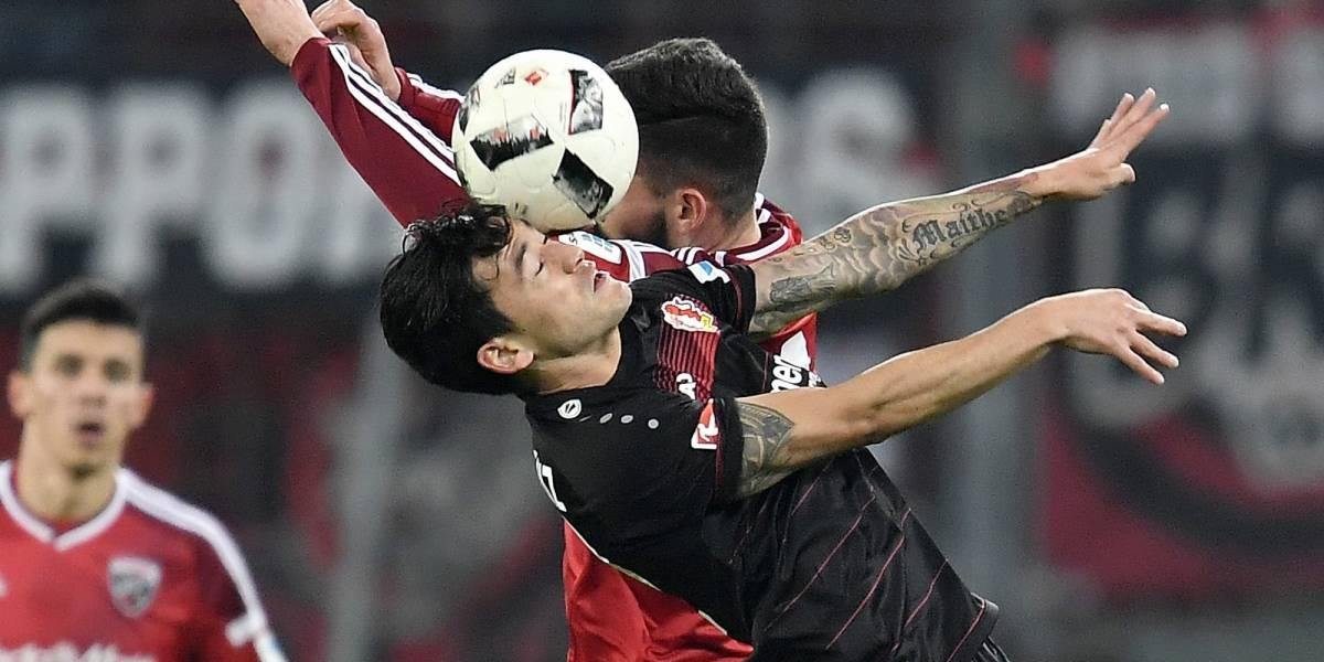 Leverkusen de Aránguiz no pudo clasificar a la Champions y deberá conformarse con la Europa League