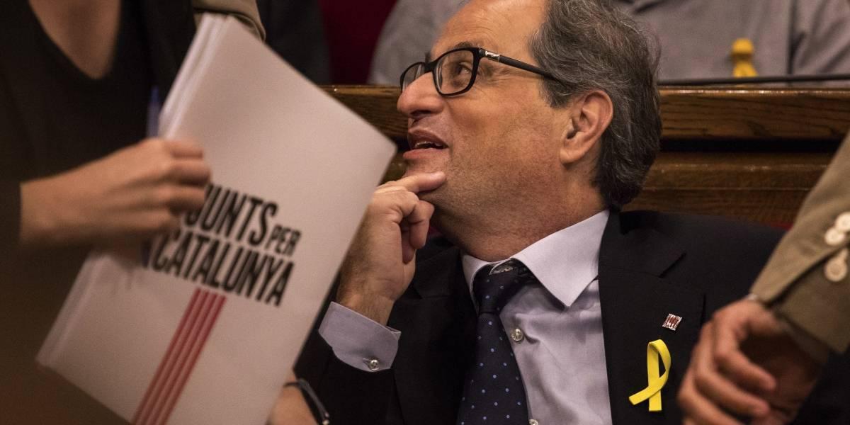 Parlamento de Cataluña rechaza la investidura de presidente de la Generalitat