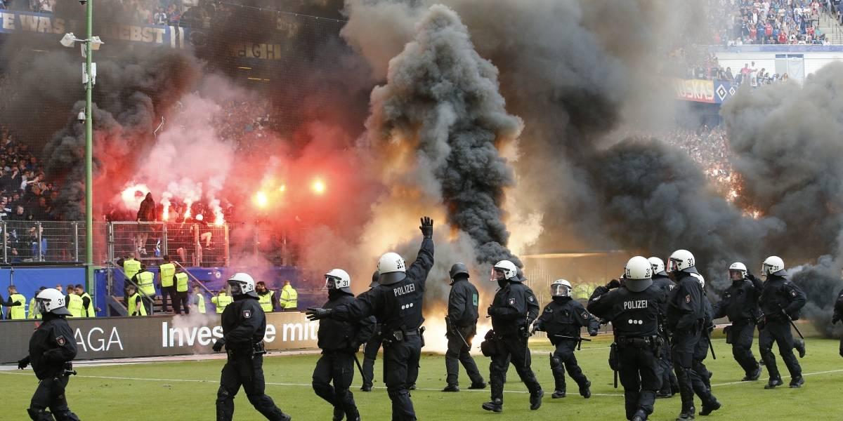 Club Hamburgo desciende de la liga Bundesliga alemana