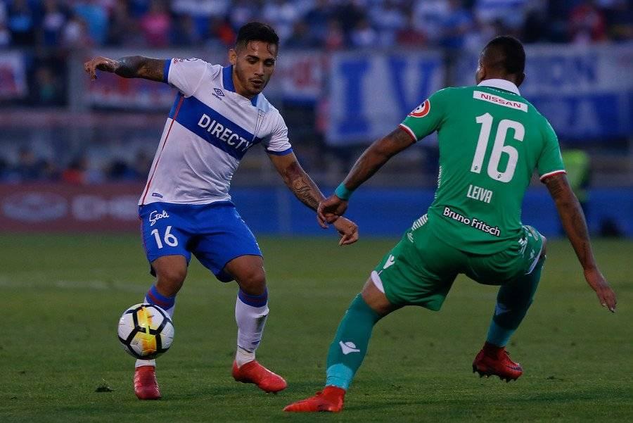 Marcos Bolados llegó a la UC como jugador con alta proyección, pero con la Franja no ha logrado consolidarse / Foto: Agencia UNO