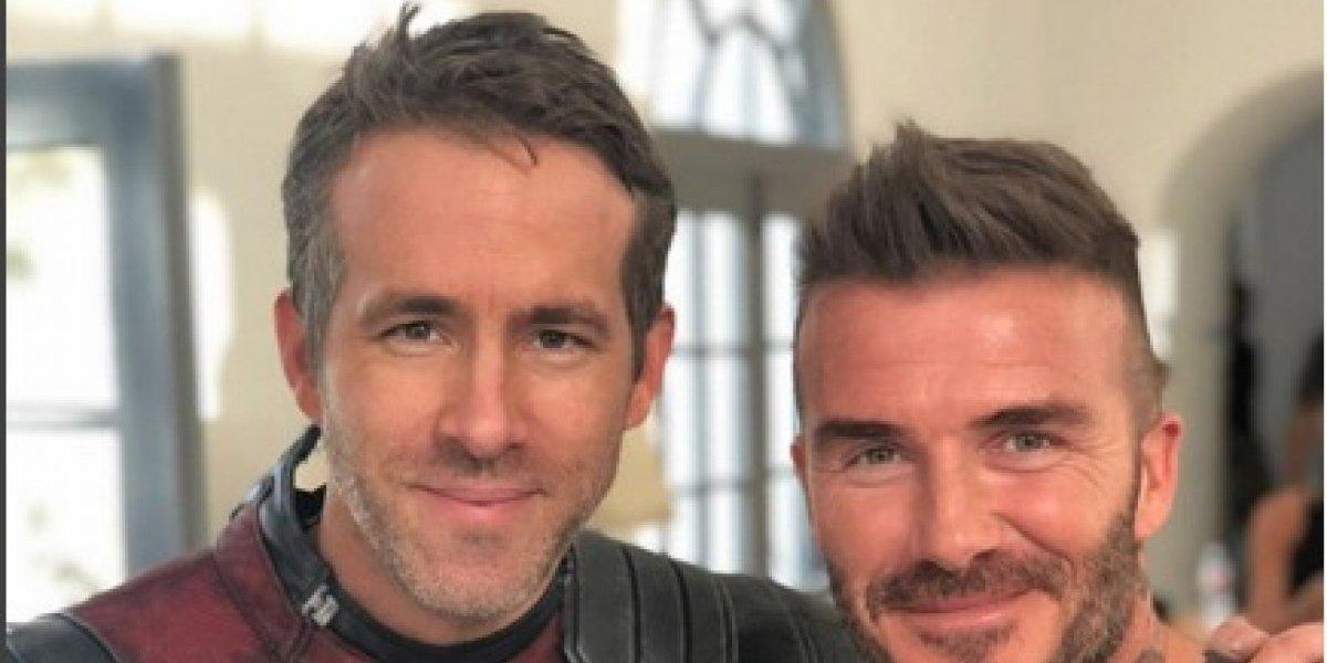 VIDEO. Deadpool le lleva mariachis a David Beckham para pedirle disculpas